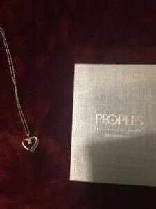 People diamond necklace