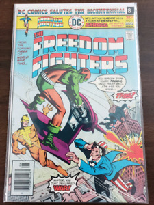 DC The Freedom Fighters #3 Comic (1976)