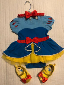 Disney Snow White Costume with Shoes & Headband