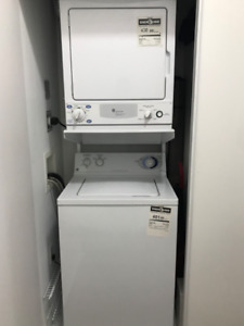 Used GE washer and dryer
