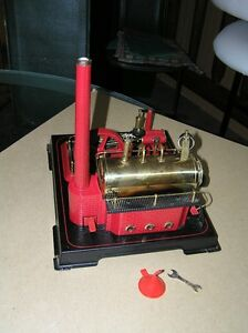 Wilesco D21 Steam Engine c/w accessories