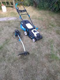MacAllister Lawn Mower & Strimmer