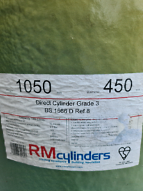 New RM hot water copper cylinder
