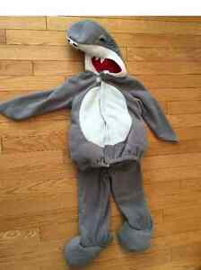 Shark Costume- Old Navy 2T/3T
