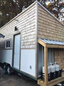 Tiny Home on wheels  25,000 heat hot water electricity