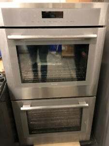 """Thermador Masterpiece Series 30"""" Double Wall Oven $4500 ham"""