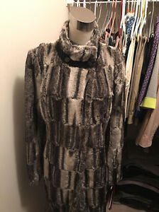 Brand new with tags gorgeous faux fur jacket size L