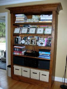 Custom BookCase - Reclaimed Antique Pine
