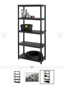 5 tier shelf