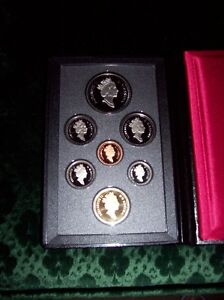 Royal Canadian Mint Silver Dollar Proof Collector Coins