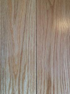 "Quickstyle 4 -1/4""x 3/4"" Natural Red Oak Hardwood flooring"