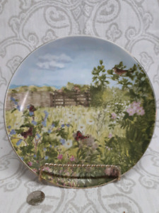 Collector Plate English Country Side