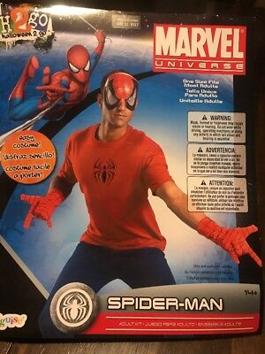 Spider-Man Costume Easy Costume Adult Standard Size