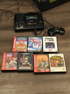 Sega Genesis and 7 games