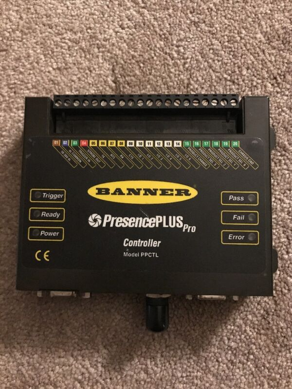 Banner Presence Plus Pro Controller Model PPCTL