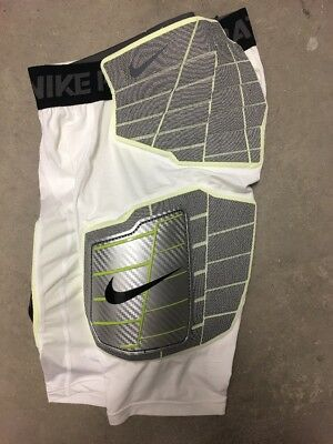 Nike Pro Combat Compression Shorts Football Padded Hard Plate Girdle Men LARGE