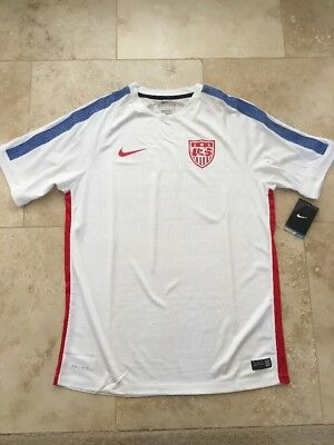 RARE NIKE USA SoccerJersey Football Authentic Mens Large NWT b6cc0a5a34153