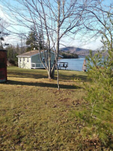 Cottage for Rent Steps from Lake Near Orangedale, NS