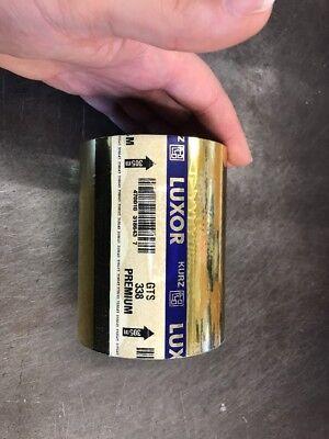 Kurz Luxor Gold Foil Hot Foil Stamping Foil Gold Blocking 100mm Full Roll