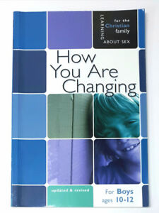 How You Are Changing - Boys Edition Ages 10-12               .A2