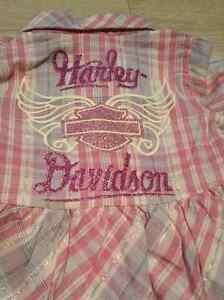 NWT Girls Harley Davidson set size 2T