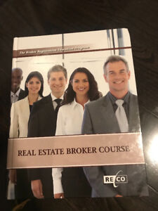 Real Estate Broker Course Textbook