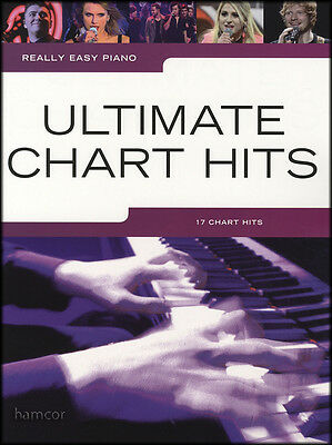 Really Easy Piano Ultimate Chart Hits Pop Music Book Uptown Funk Ghost All Of Me