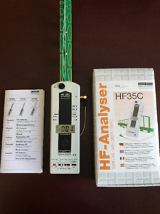 ANALISEUR RF, DE HAUTE FRÉQUENCE. HI-FREQUENCY RF-ANALYSER