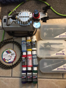 Barely Used Air Brushing Kit **Need Gone Today!**