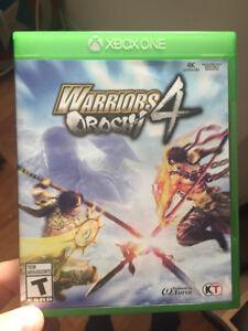 Warriors Orochi 4 Xbox One Neuf
