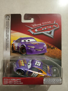 Pixar Cars Metallic Bobby Swift Scavenger Hunt CHASE MODEL
