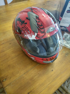 Motorcycle helmet size medium