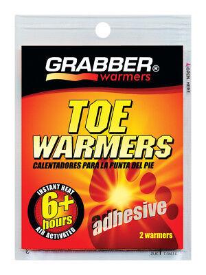New 1pr Grabber Heat Treat 6 hr TOE WARMER Gloves Boots Pocket Instant Heat TWES
