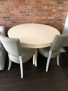Upcountry dining table and chairs