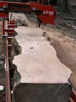 """Custom sawmilling. Up to 36"""" wide and 50' long!"""