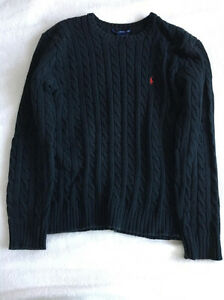 Ralph Lauren Sport Cable Knit Sweater (Size M)