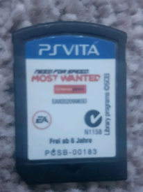 Ps vita need for speed most wanted.