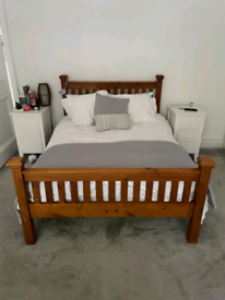 Double size bed, with mattress - £80