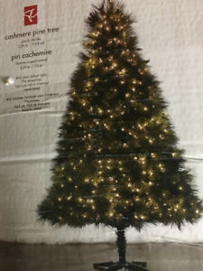 7.5ft cashmere pine Christmas tree