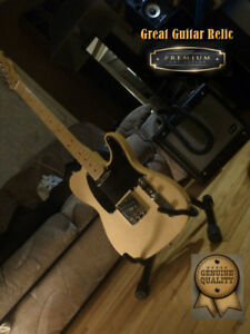 Fender Telecaster 1951 Real Relic Pine Top California Made
