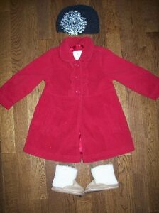 The Children's Place Jacket, 18 months & Hat & Joe Boots, Sz. 4
