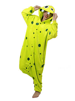 Halloween Gag Zahn Monster Onesiee Kigurumi Kostüm Kapuzen Pyjama ()