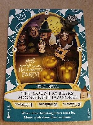 Disney Mickeys Not So Scary Halloween Sorcerer Of The Magic Kingdom Card 2017