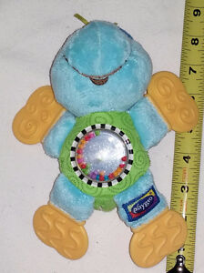 Plush PlayGrow Turtle with Rattle Tummy and Teether Feet London Ontario image 1