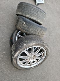 Subaru impreza alloy wheels
