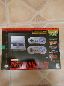 New Super Nintento Classic & 1st Gen 89' Gameboy In Box