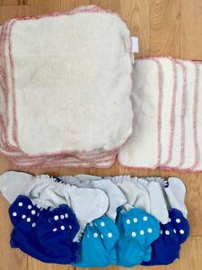 AMP hemp cloth diaper lot