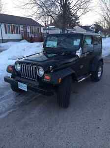 1998 Jeep TJ Other Sarnia Sarnia Area image 1