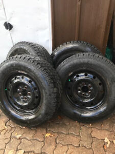 Ford Winter Tires and rims P215/65R17