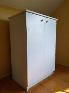 Sturdy Custom-built Short Wardrobe